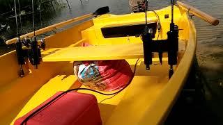 Обзор пластиковой лодки Нельма 370 ч.1