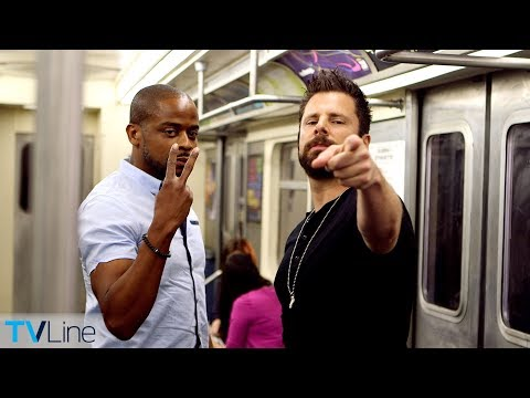 Tube Talk: Dulé Hill Crashes James Roday Subway   TVLine