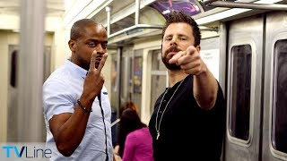 Tube Talk: Dulé Hill Crashes James Roday Subway Interview | TVLine