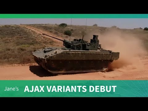 Ajax -  Ares, Apollo and Atlas variants debut (DVD 2018)