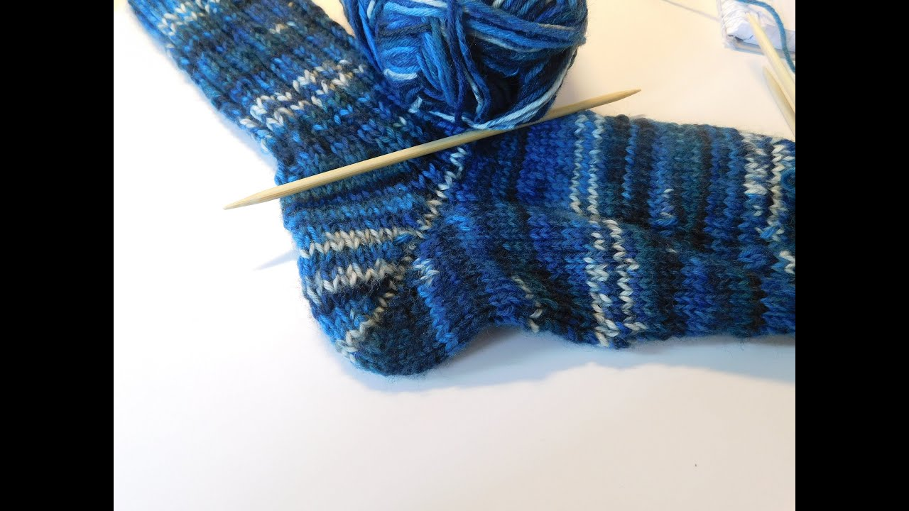 socken stricken tutorial teil 3 die ferse