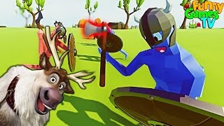 Игровой мульт про симулятор боев Totally Accurate Battle Simulator
