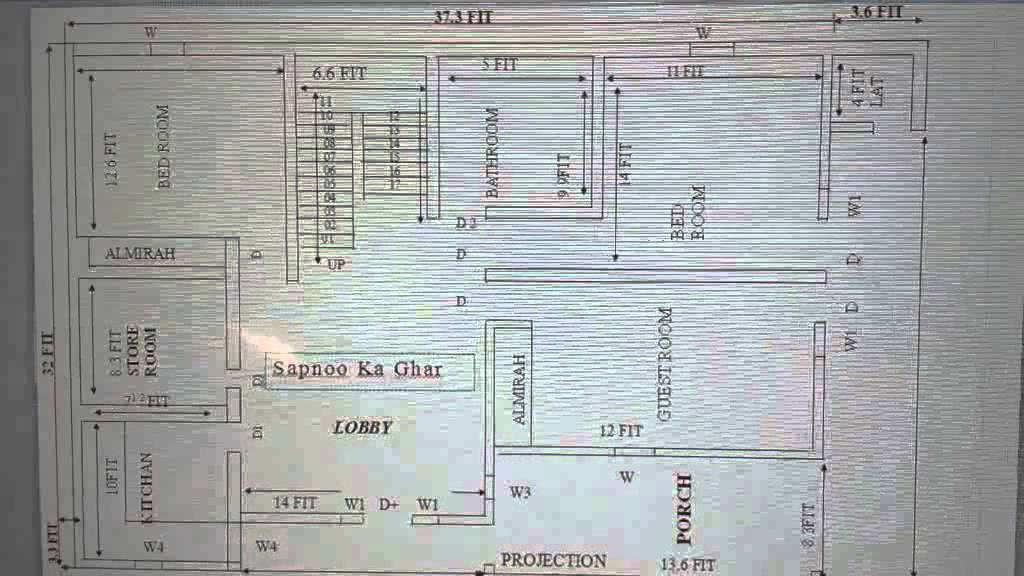 Home map make a perfect degining building 2016 17 youtube Naksha for house construction