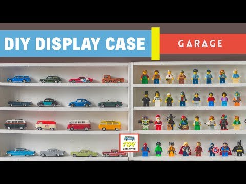DIY: How to build display shelves for toys - HotWheels, Lego, Matchbox, Tomica, Greenlight