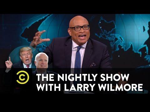 The Nightly   Blacklash 2016: The Unblackening  Trump Dump