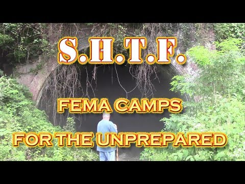 It's a FEMA Camp if You Are Not Prepared for Emergency