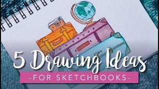 Sketchbook Drawing Ideas For Beginners