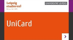 Wie funktioniert die UniCard der Universität Leipzig?