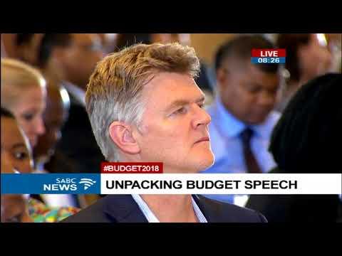 Post Budget 2018 Breakfast with Finance Minister Gigaba