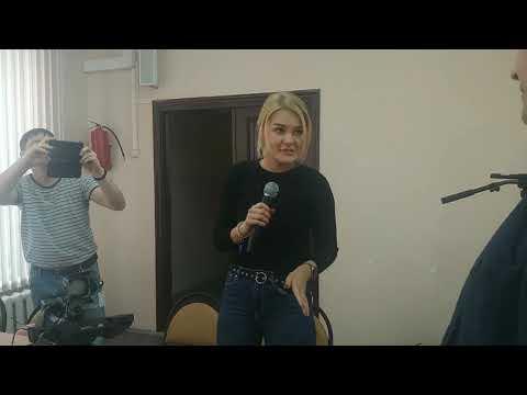 Мастер-класс для журналиста  МЖ Школа №18  г. Братск