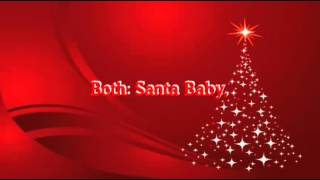 Santa Baby - Ariana Grande ft. Liz Gillies (Karaoke Instrumental & Lyrics)