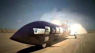 Schneller als ein Schuss: Mit Raketenauto durch die Schallmauer