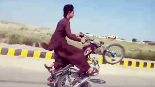 best bike wheeling 70 and 125 bikers tricks(muazzam696)