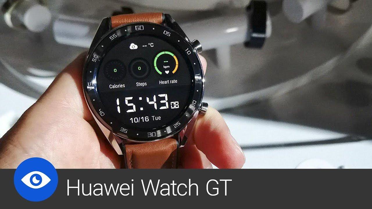 Huawei Watch GT (první pohled) - YouTube 61ef2efd40aab