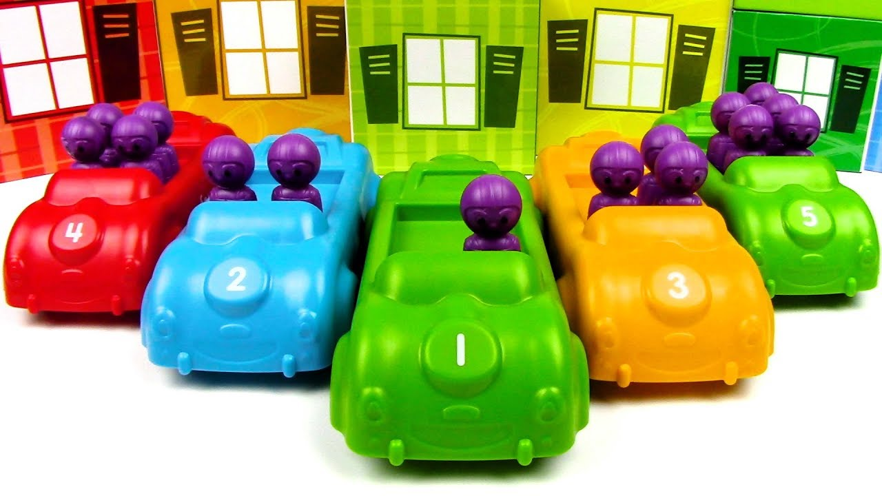 Learn 1 To10 Numbers For Kids|Counting numbers with cars|Colors cars ...