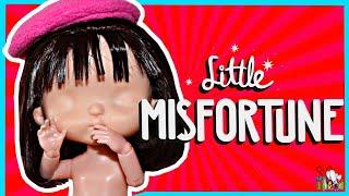 МАЛЕНЬКАЯ НЕУДАЧА  / ООАК ч. 1/ ПРИЧЁСКА// Little Misfortune /  Muza Rukodeliya 🌺