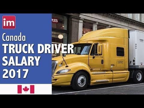 Trucking Jobs Calgary >> Truck Driver Salary In Canada Jobs In Canada Youtube