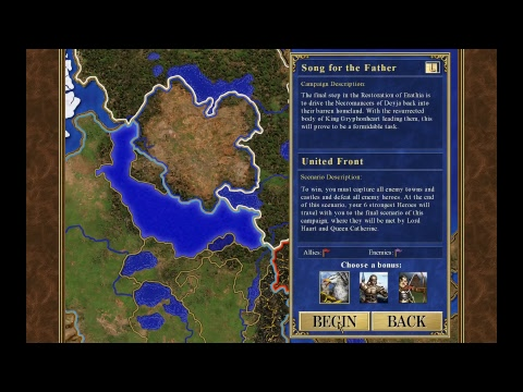 Homm iii hd edition campaign song for the father map 1 a brand homm iii hd edition campaign song for the father map 1 a brand new world gumiabroncs Images
