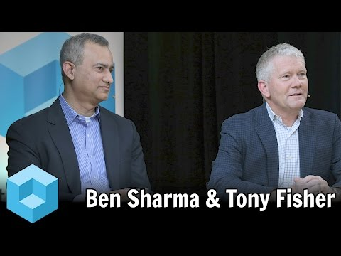 Ben Sharma & Tony Fisher, Zaloni - #BigDataSV 2016 - #theCUB