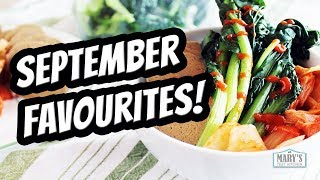 SEPTEMBER FAVORITES + WHAT I ATE VEGAN IN A DAY #83 | Mary