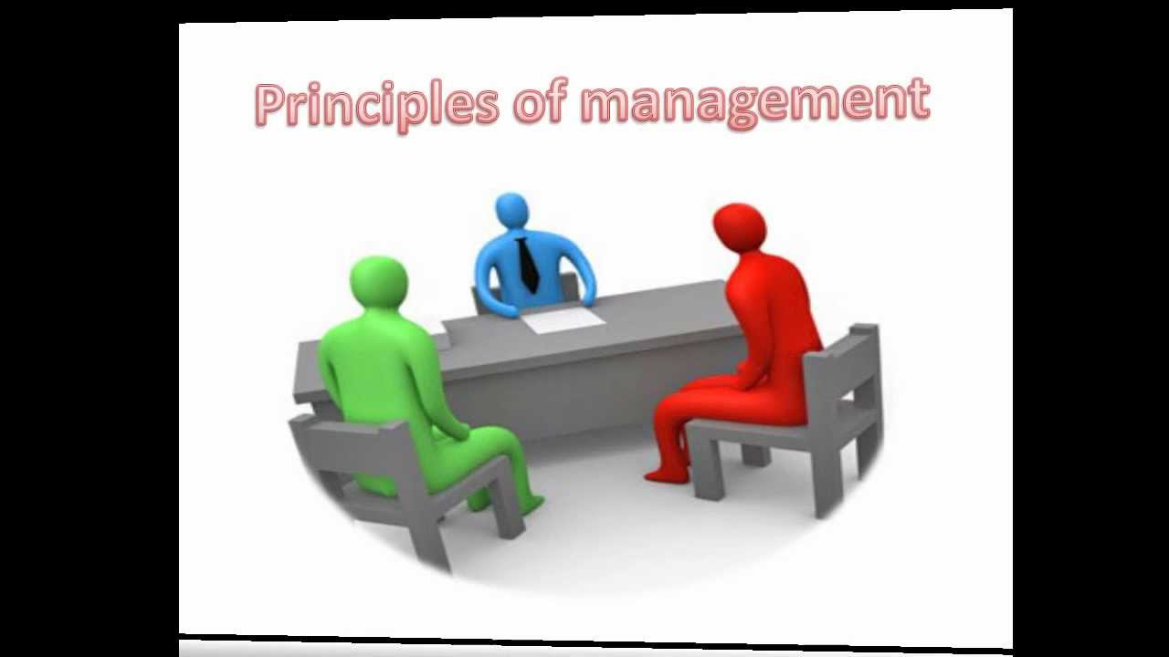 principals of management