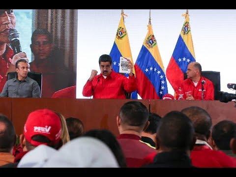 Maduro en reunión con trabajadores de Pdvsa, evento completo, 28/11/17