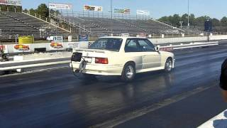 Boris BMW E30 Turbo Nitrous 9 second at Maryland International Raceway