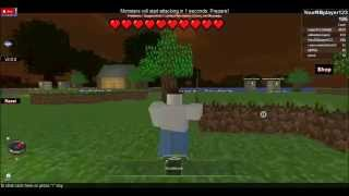 Episode 1 of Roblox: I got the better Stone Sword (Minecraft Tycoon)