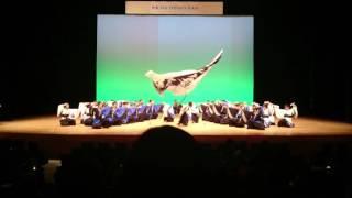 1/15 日立システムズホールにて。 1回目の演舞です。