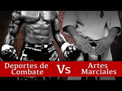 ¿Cuál es la Diferencia Entre Artes Marciales y Deportes de Combate?