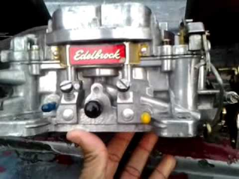 Cleaning the Edelbrock 2/3