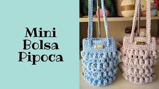 Bolsinha de Crochê – Linda e Sofisticada – Fácil de Fazer