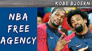 Kevin Durant, Deandre Jordan & weitere Free Agent Signings - KobeBjoern uncut