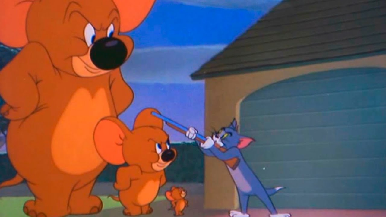 Tom And Jerry Episode 74 Jerry And Jumbo 1951 Youtube