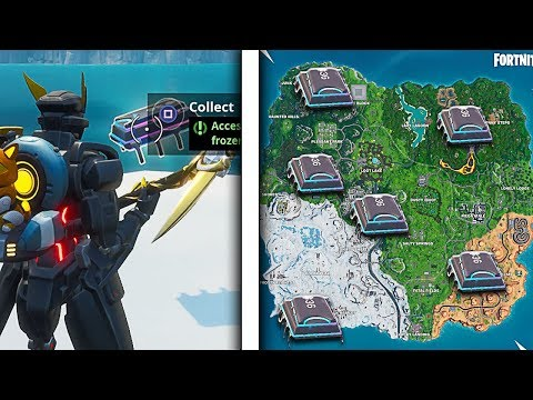 How To Find Fortbytes in Fortnite! All Hidden Fortbyte Locations! (Season 9 Fortbyte Locations)
