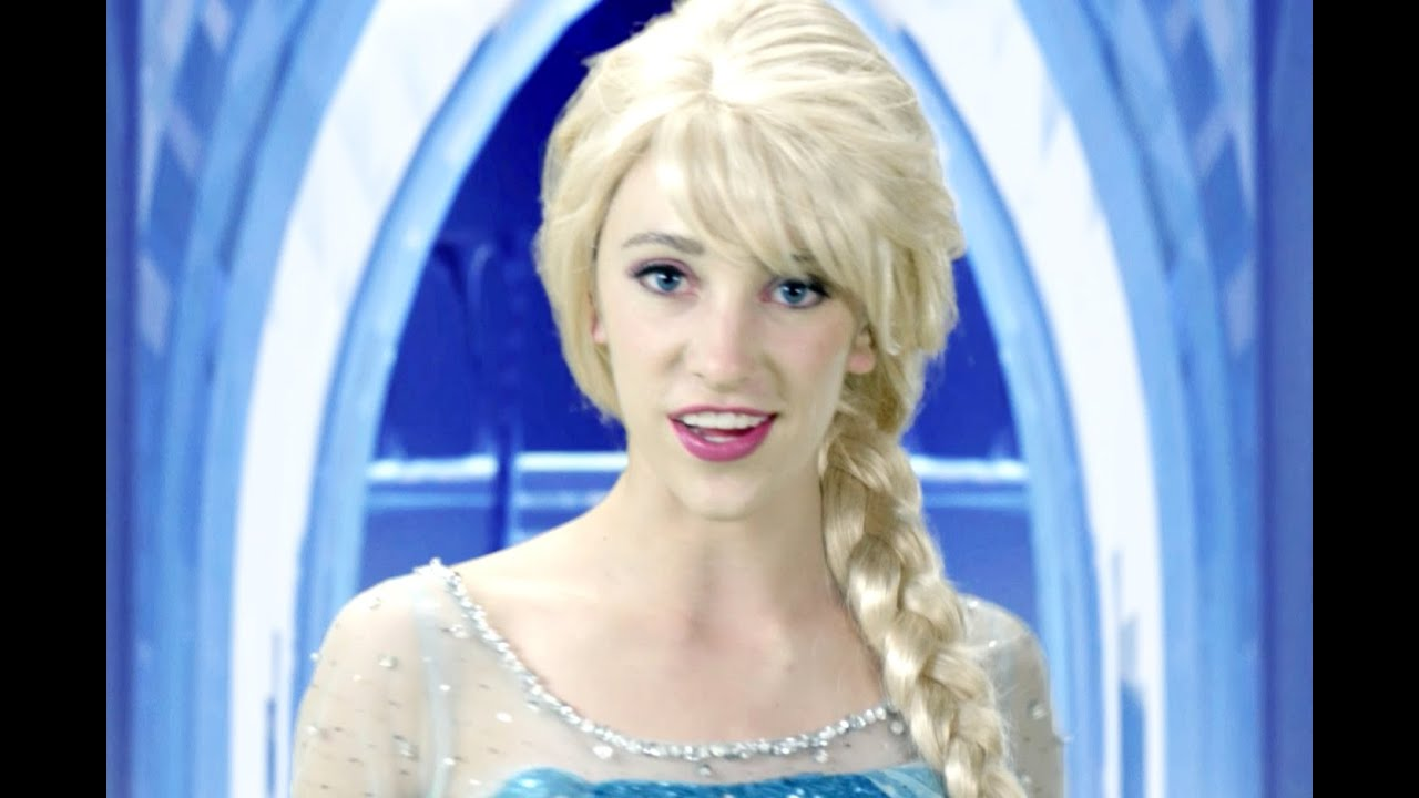 Disney Frozen Elsa Let it Go — In Real Life