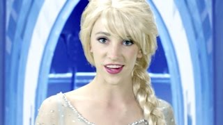 Repeat youtube video Disney Frozen Elsa Let it Go - In Real Life
