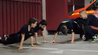 En immersion dans l'entraînement des jeunes sapeurs pompiers