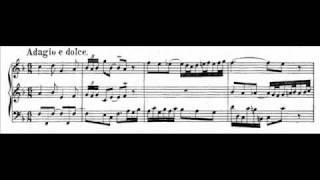 J.S. Bach - BWV 527 (2) - Sonata III - Adagio e dolce F-dur / F major