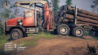 Spintires MudRunner American Wilds - Western Star 6900XD Logging Truck Off Road