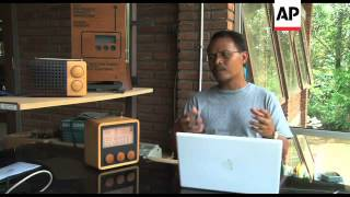 Sustainable wooden radio benefits local community
