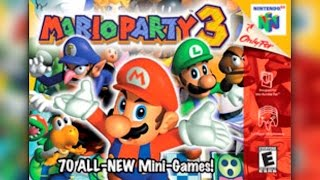 Mario Party 3 (N64) Creepy Cavern 8-Person Team Game w/ TheKingNappy + Friends