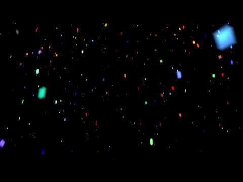 Colorful Confetti - HD Motion Graphics Background Loop