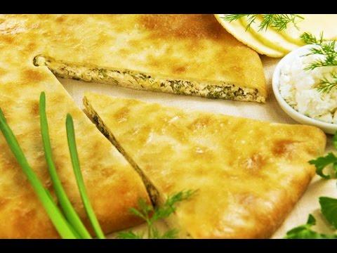 Пирог в мультиварке с сыром и зеленью