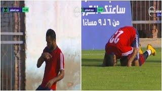 شاهد.. لاعب يرسم الصليب ويسجد في الدوري المصري - E3lam.Org