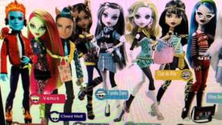 """Monster High"" Return Of The Giants Nephilims"