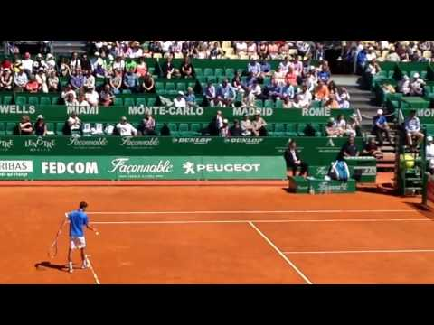 Andy Murray LOSES 3RD ROUND 2017 Monte Carlo Rolex Masters