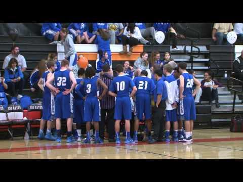 LGHS Boys' Varsity Basketball v Los Altos Eagles 2/13/15