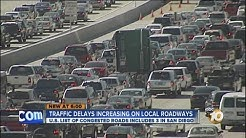 Report: San Diego ranked 15th worst traffic city in United States