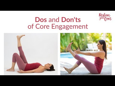 Dos and Don'ts of Core Engagement